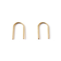 Short Arc Earrings