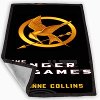 That Hunger Games Catching Fire Fan Blanket for Kids Blanket, Fleece Blanket Cute and Awesome Blanket for your bedding, Blanket fleece **