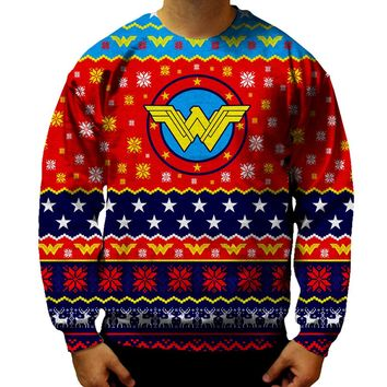 Wonder Woman Christmas Sweatshirt