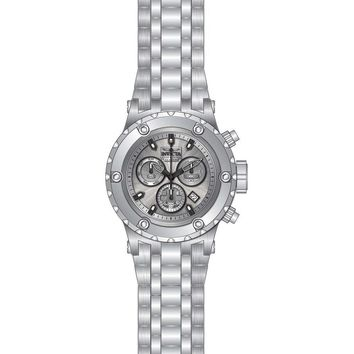 Invicta Men's 23918 Subaqua Quartz Chronograph Silver Dial Watch