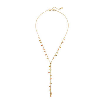 Michael Kors Tailored Two-Tone Nugget Slider Y-Necklace
