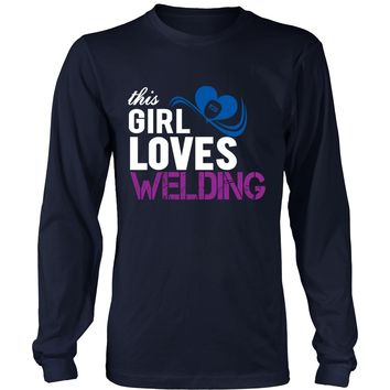 This Girl Loves Welding