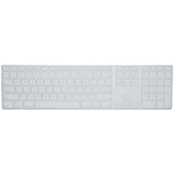 Ezquest Apple Wired Keyboard With Numeric Keypad Us And Iso Invisible Ice Keyboard Cover