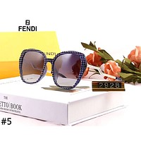 Fendi 2019 new women's UV protection driving polarized film sunglasses #5