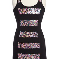 Flowers by Zoe Sequin Tank Dress (Big Girls) | Nordstrom