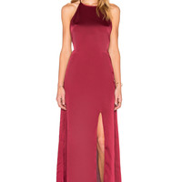 WYLDR Elegance Maxi Dress in Wine