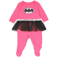 Batgirl Newborn Baby's Costume Sleeper