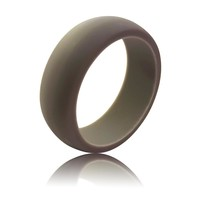 Men's Silicone Ring (9MM) - Space Gray