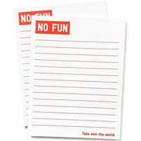 Take Over The World Notepad Set