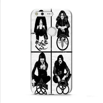 Led Zeppelin (members-with symbols) Google Pixel 2 Case