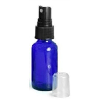 1 oz. Cobalt Blue Glass Mister Bottle