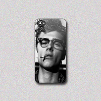 James Dean Smoke - Print on Hard Cover for iPhone 4/4s, iPhone 5/5s, iPhone 5c - Choose the option in right side