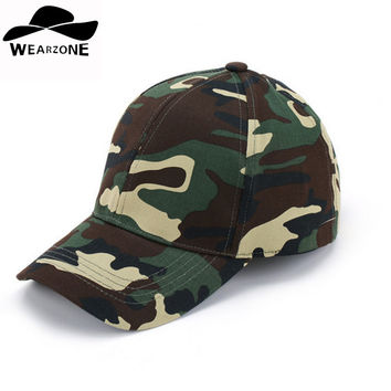 2017 Mens Army Camo Cap Baseball Casquette Camouflage Hats For Men Camouflage Cap Women Blank Desert Camo Hat