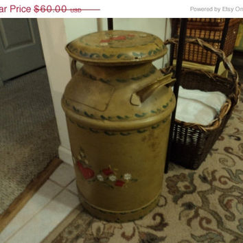 Vintage full-size milk can - PICK UP ONLY