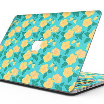 Tropical Floral v1 - MacBook Pro with Retina Display Full-Coverage Skin Kit