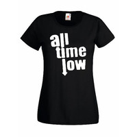All Time Low - Rock Pop Punk Various Colors Lady Shirt Womens Clothing Ladies T-Shirt Womens T-Shirt