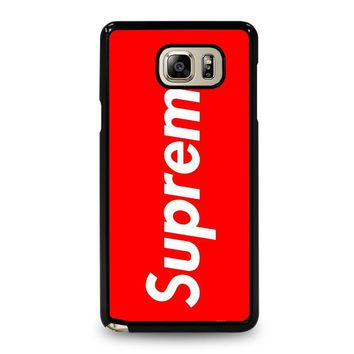 SUPREME 2 Samsung Galaxy Note 5 Case Cover
