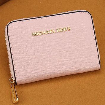 DCCKJ3V MK Women Leather Zipper Wallet Purse-13