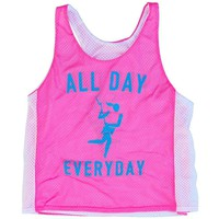 Lacrosse All Day Everyday Racerback Pinnie