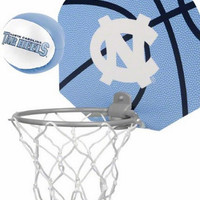 North Carolina Tarheels Basketball Hoop Set