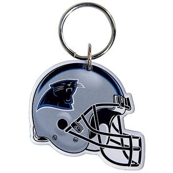 Carolina Panthers - Helmet Acrylic Keychain