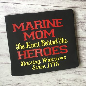 Marine Mom Shirt, Proud Mom Of A Marine Shirt, Marine Shirt, Soldier Shirt, Marine, Oorah