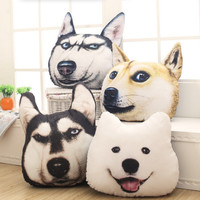 Dog Pattern Pillow