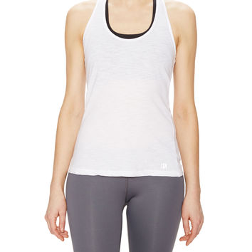 Koral Activewear Sling Back Tank Top - White -