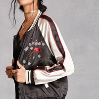 Satin Japan Embroidered Jacket