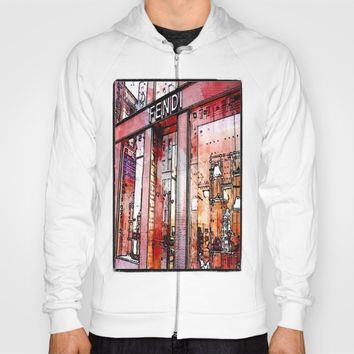 pencil store window  Hoody by Jessica Ivy