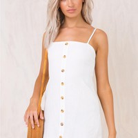 Rita Dae Mini Dress White
