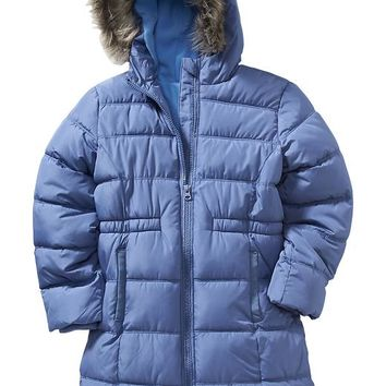 Old Navy Girls Frost Free Long Jacket
