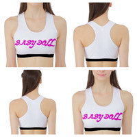BABY DOLL sports bra/crop top