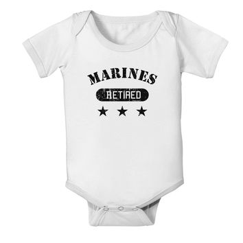 Retired Marines Baby Romper Bodysuit