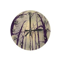 I got lost... round clocks from Zazzle.com