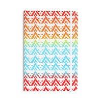 """Frederic Levy-Hadida """"Antilops Pattern"""" Multicolor Chevron Everything Notebook"""