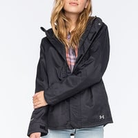Under Armour Coldgear Infrared Sienna 3-In-1 Womens Jacket Black  In Sizes