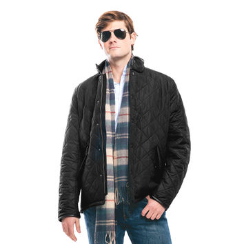 Barbour® Black Powell Quilted Jacket