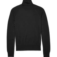Jil Sander - Rollneck Wool and Silk-Blend Sweater | MR PORTER