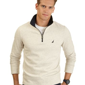 Nautica Quarter-Zip Fleece Pullover