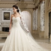 Sweetheart Neckline Wedding Dresses - DressesPlaza