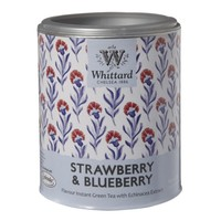 Low Calorie - Strawberry & Blueberry Green Instant Tea