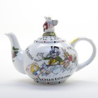"Paul Cardew ""Alice in Wonderland"" Teapot 18oz:Amazon:Kitchen & Dining"