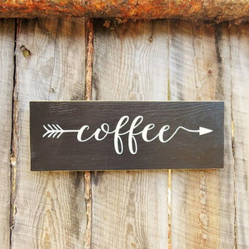 Coffee Sign Black