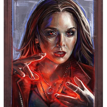 """""""Scarlet Witch"""" by Robert Bruno"""