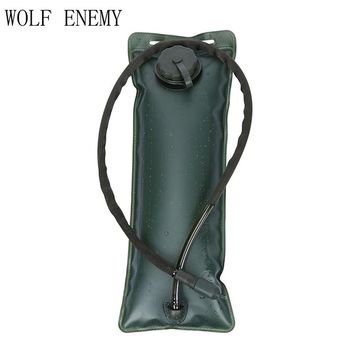 3L Water Bag Bladder System Hiking Survival Pouch Outdoor Backpack.