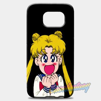 Sailor Moon Sticker Samsung Galaxy S7 Case