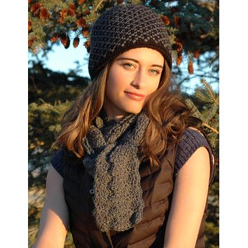 Alpaca Scarf - Men & Women Styles | Hand Crafted