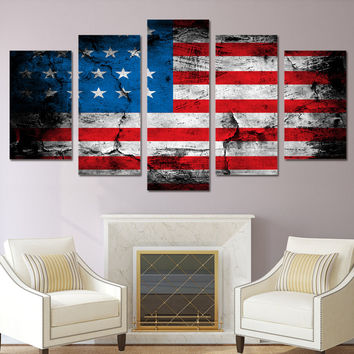 American Flag Wall Art shop american flag wall art on wanelo