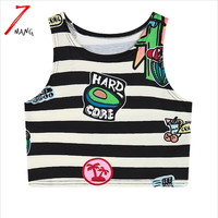 Cotton Cartoon Print Tank
